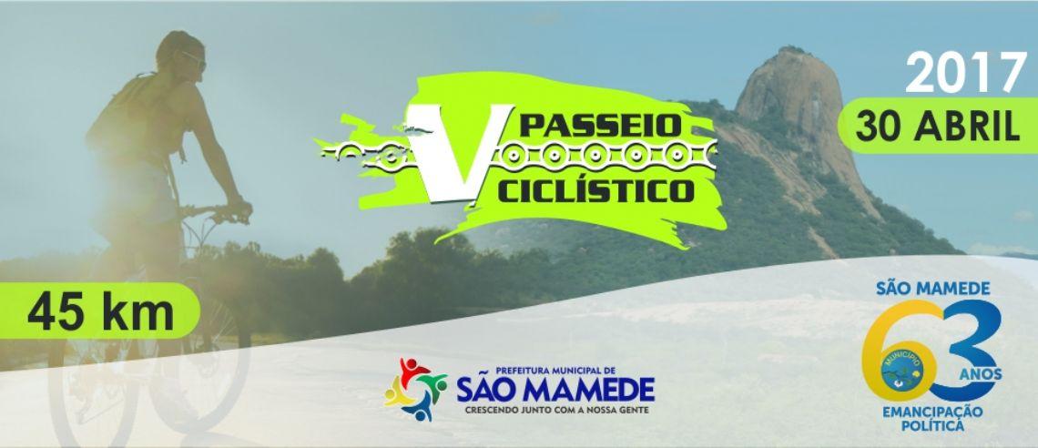 V PASSEIO CICLÍSTICO SÃO MAMEDE-PB