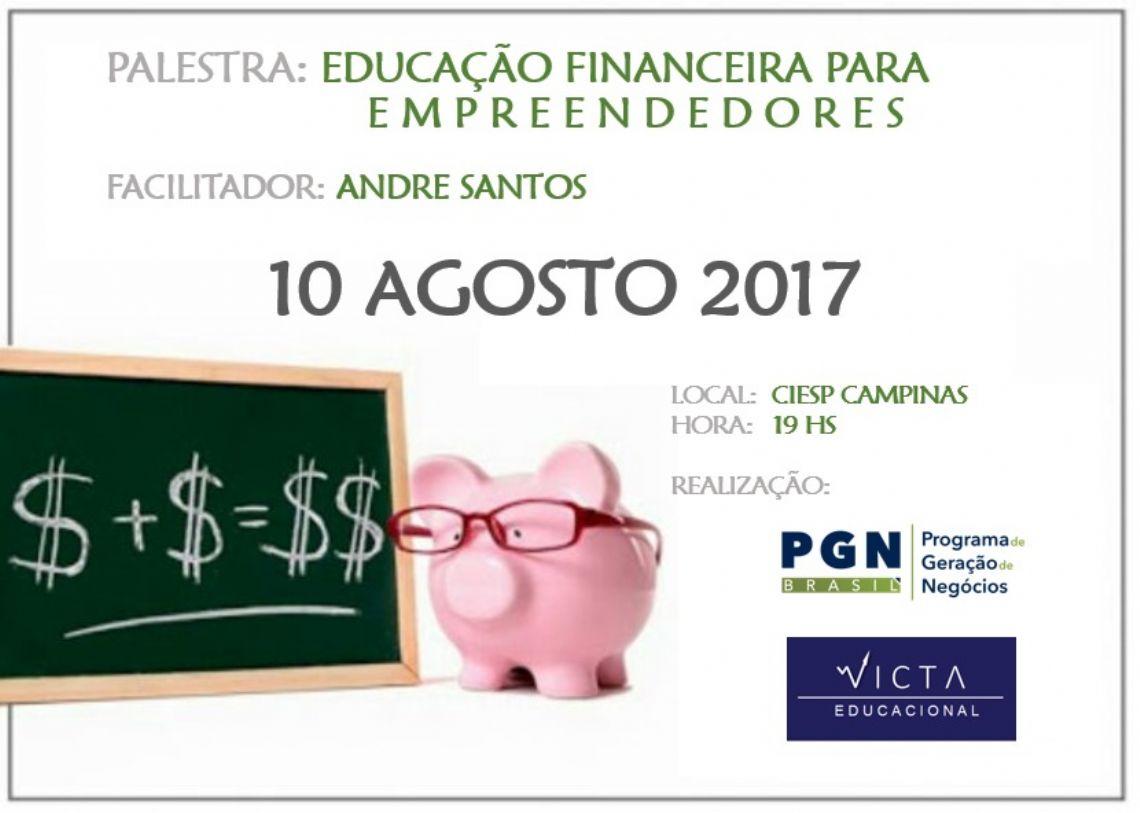 EDUCAÇÃO FINANCEIRA PARA EMPREENDEDORES