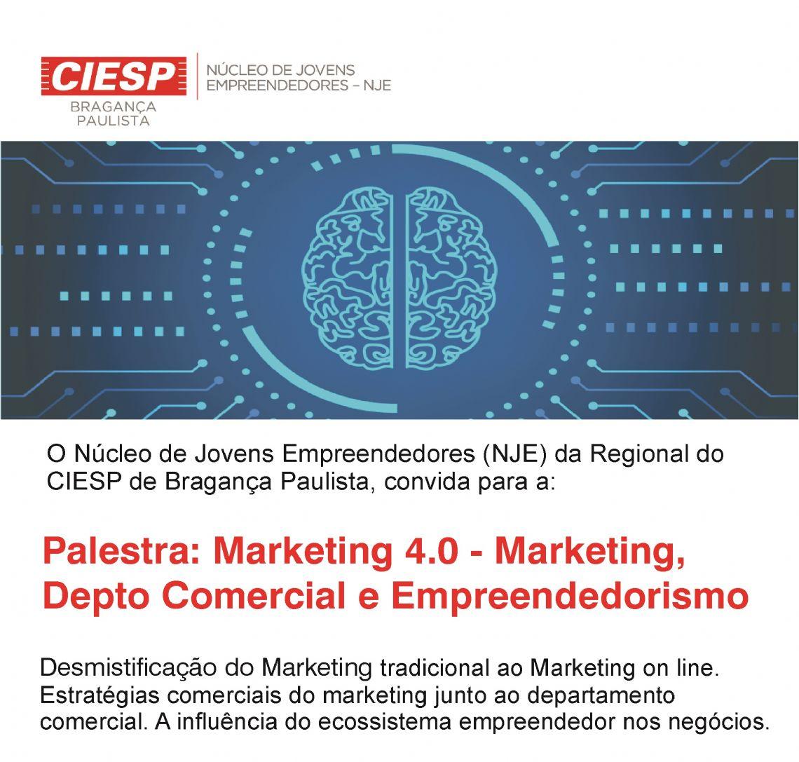 NÚCLEO DE JOVENS EMPREENDEDORES DO CIESP E SENAI DE BRAGANÇA PTA
