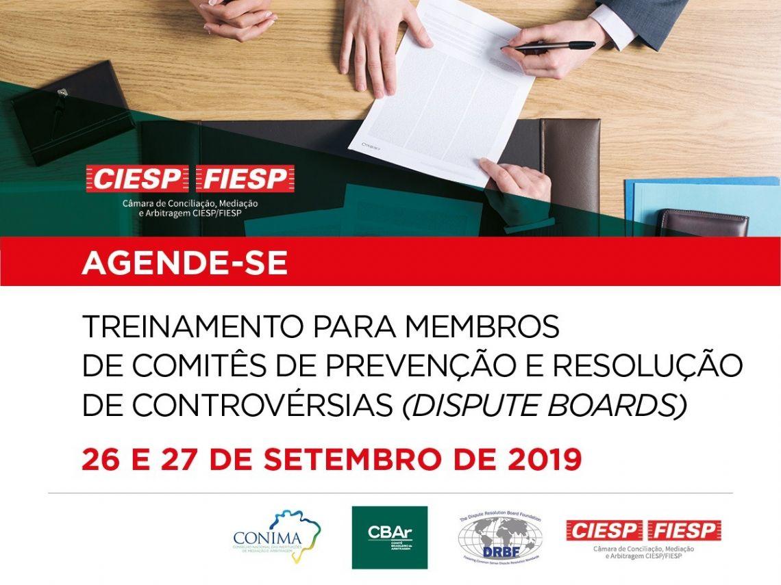 CÂMARA DE CONCILIAÇÃO, MEDIAÇÃO E ARBITRAGEM CIESP/FIESP