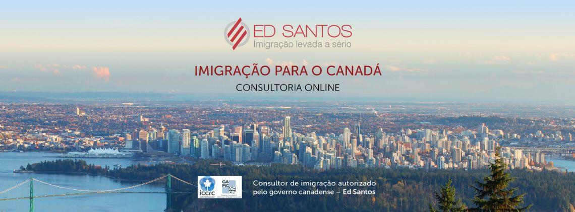 ED SANTOS, CONSULTOR REGULAMENTADO PELO GOVERNO CANADENSE
