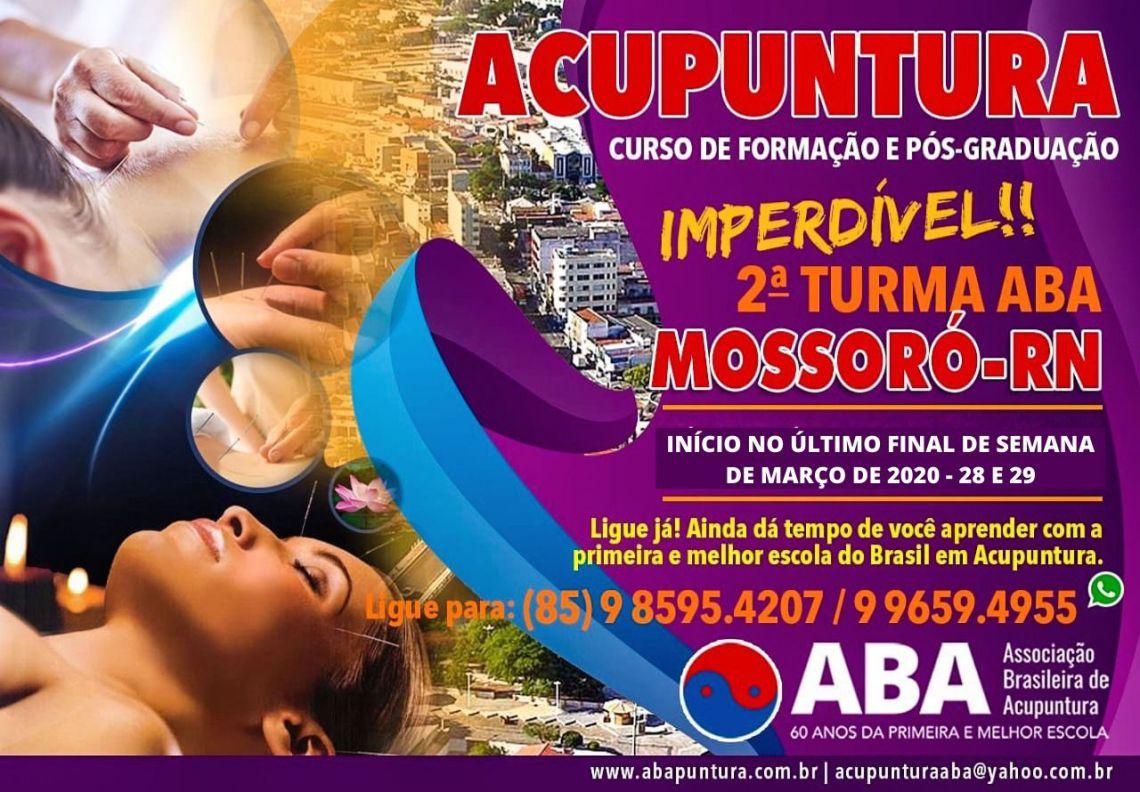 ASSOCIAÇÃO BRASILEIRA DE ACUPUNTURA - MOSSORÓ