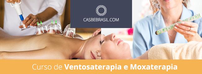 Curso de Ventosaterapia e Moxaterapia - São Carlos